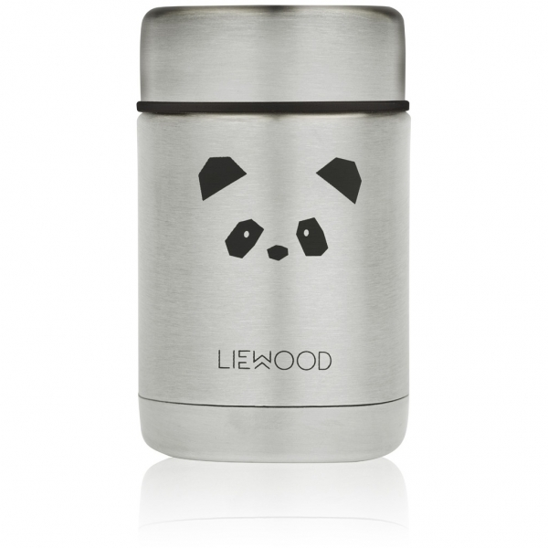 "Kinder Thermobehälter ""Nadja food jar - Panda stainless steel"" - 250ml"