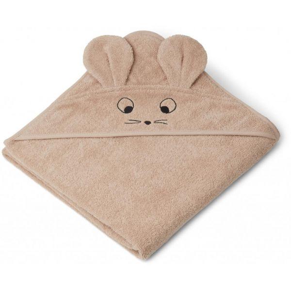 """Kapuzen-Badetuch """"Augusta Hooded Towel - Mouse Pale Tuscany"""""""