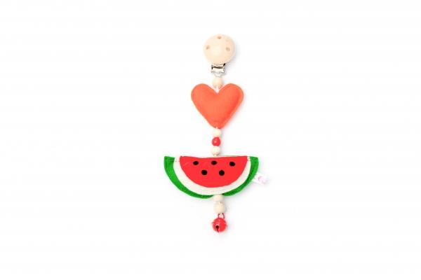 Kinderwagenanhänger Wassermelone