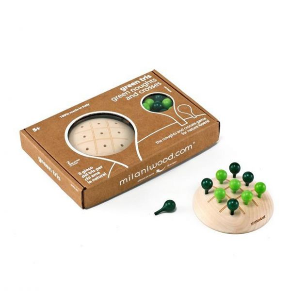 Strategiespiel 'Nought and Crosses / Tic Tac Toe' aus Holz