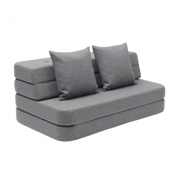 Multifunktionales Sofa 'KK 3 Fold Sofa' (120 cm) - Blue Grey / Grey
