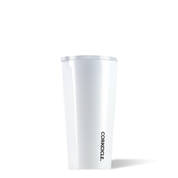 Thermosbecher To-Go 'Tumbler' 0,47L - Dipped White