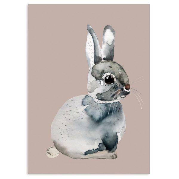 "Postkarte ""Bunny rabbit"""