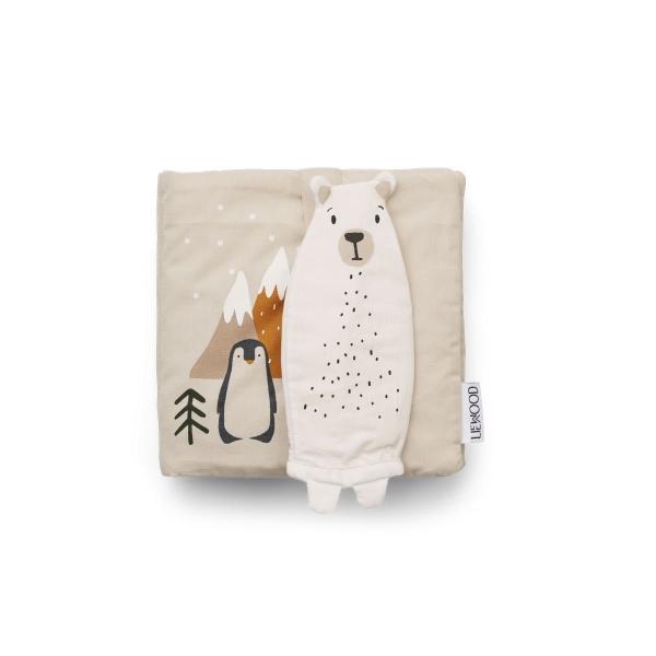 Baby Stoffbuch 'Benny Arctic Mix'