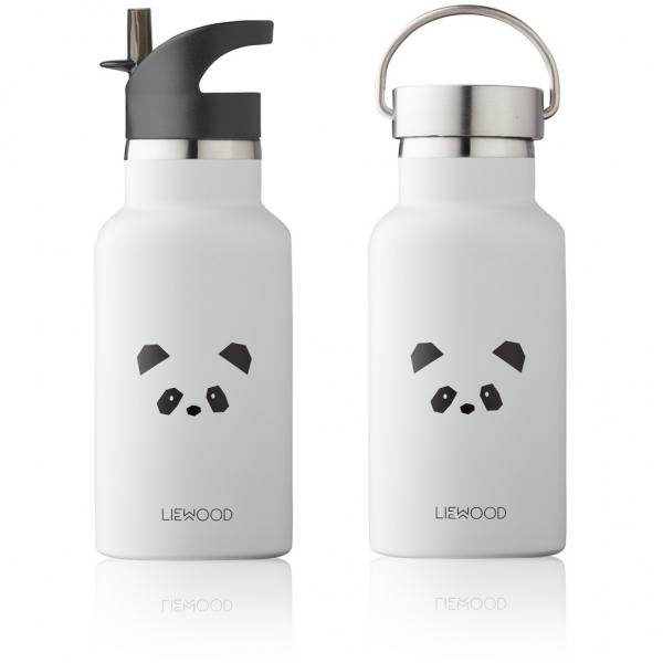 Kinder-Trinkflasche 'Anker - Panda light grey' - 350ml