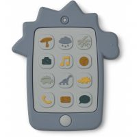 Teether Thomas Mobile Phone - Dino blue wave