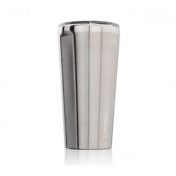 Coffee to go - Thermosbecher 'Tumbler' 0,47L - Brushed Steel