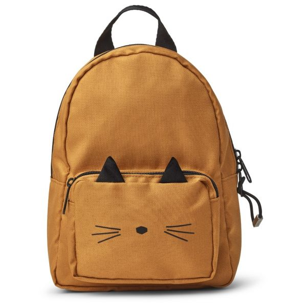 Kinderrucksack 'Saxo Mini - Cat mustard'